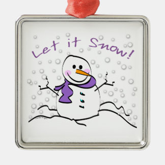 Let It Snow Holiday Christmas Ornament
