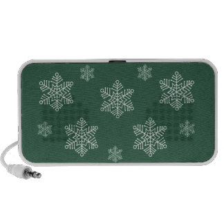 Let it Snow Holiday Speaker, Green
