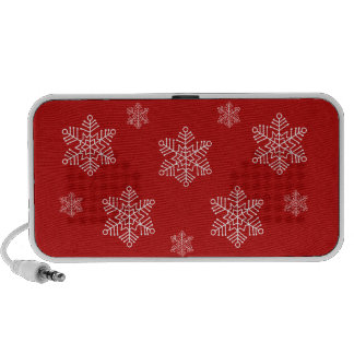 Let it Snow Holiday Speaker, Red