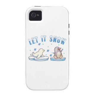 Let It Snow iPhone 4/4S Case