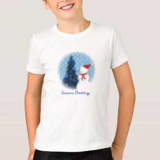 Let it Snow Kids American Apparel T-Shirt