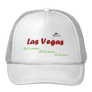 Let it snow, Las Vegas Hat