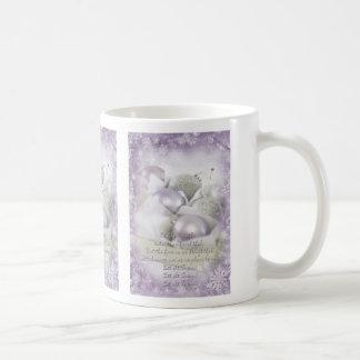 Let it snow lilac Christmas Mug