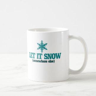 Let it Snow Coffee Mugs