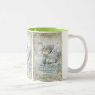 Let it snow olive Christmas Mug