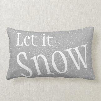 Let it Snow Pillow