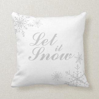Let It Snow Cushion 28 Images