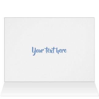 Let it snow Polar Bear Greeting Card