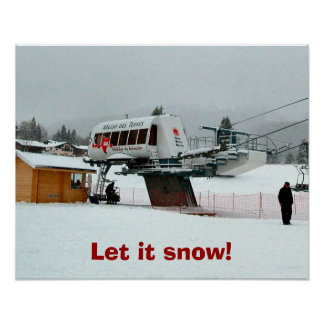 Let it snow! print