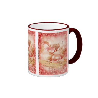 Let it snow red Christmas Mug
