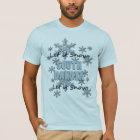 Let it Snow South Dakota Light Blue T-shirt