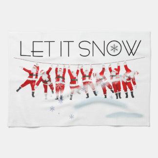 Let it Snow Tea Towels