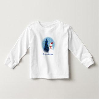 Let it Snow Toddler Long Sleeve Toddler T-Shirt