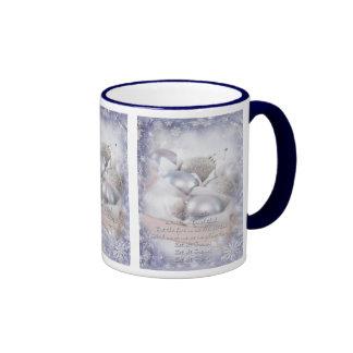 Let it snow violet Christmas Mug