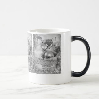 Let it snow white-black Christmas Mug