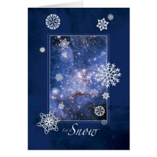 Let it Snow with Large Magellanic Cloud – Hubble Card