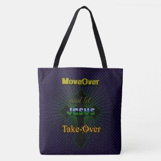 Let Jesus Take Over Tote Bag