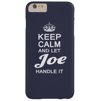 Let Joe handle it! Barely There iPhone 6 Plus Case