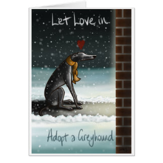 Let Love In Card