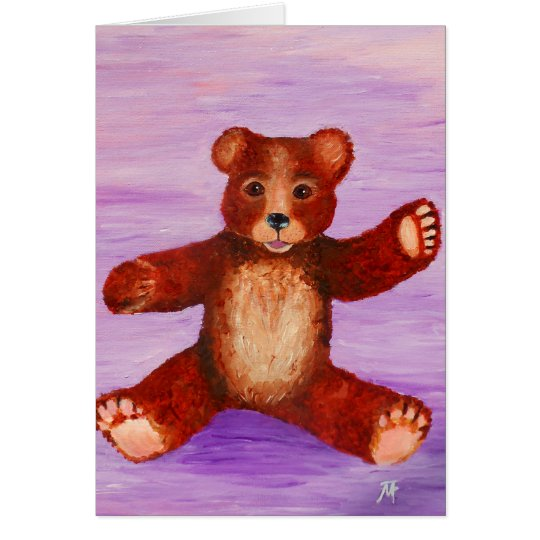 Let me be your Teddy Bear Card