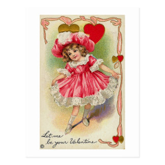 Let Me Be Your Valentine Postcard