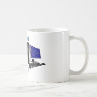 Let me drop everything to help you basic white mug