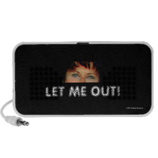 LET ME OUT! PORTABLE SPEAKERS