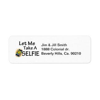 Let Me Take A Selfie