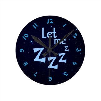 Let Me ZZZ Clock