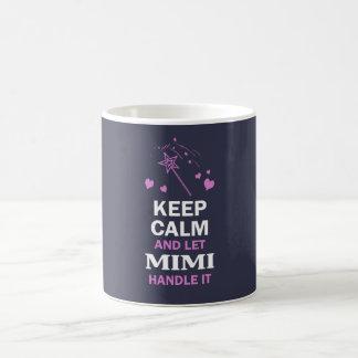 LET MIMI HANDLE IT... BASIC WHITE MUG