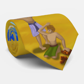 Let My People Go Bible Story Collage Tie