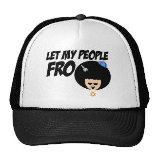 Let My People Go Cap