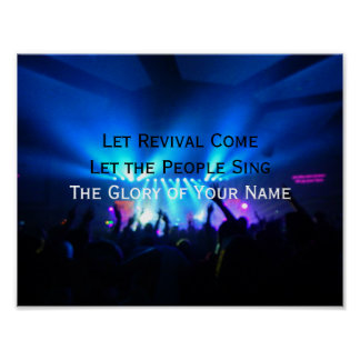 Let Revival Come Poster