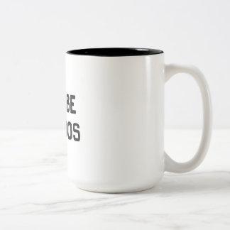 Let's Be Weirdos Two-Tone Mug