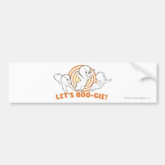 Let s Boo-gie Bumper Sticker