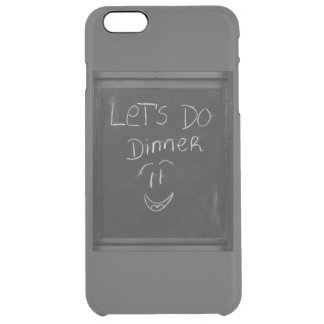 let`s do dinner clear iPhone 6 plus case