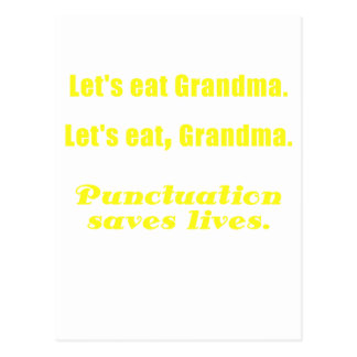 Let s Eat Grandma Postcards