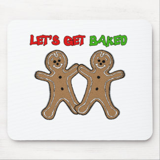 LET S GET BAKED - png Mouse Pads
