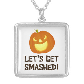Let s Get Smashed Halloween Party Necklaces
