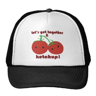 Let's Get Together and Ketchup! Kawaii Tomatoes Cap
