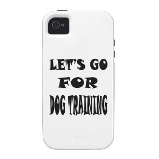 Let s Go For DOG TRAINING iPhone 4/4S Case