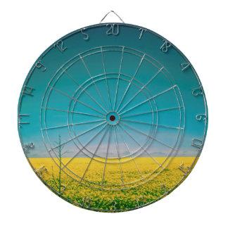Let's go wait out in the fields dartboard