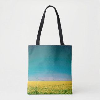 Let's go wait out in the fields tote bag