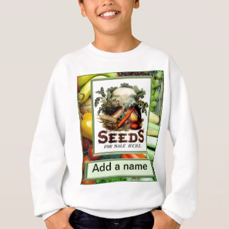 "Let""s grow vegetables sweatshirt"