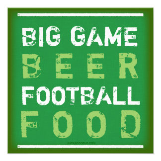Let s Have a Party Football Championship Game Invites