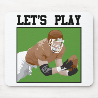 Let s Play Football Mousepads
