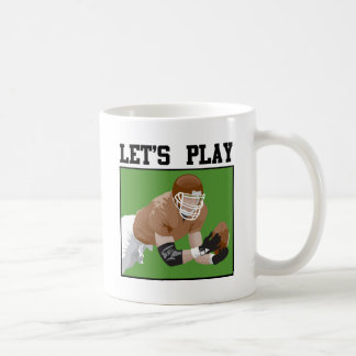 Let s Play Football Mug