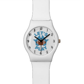 Let's play football wristwatches