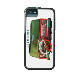 Let s Ride Nostalgic Toy Dashboard Pic iPhone 5/5S Cases