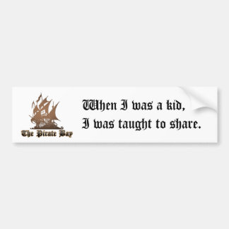 Let s Share Bumper Stickers